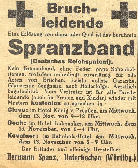 spranzband