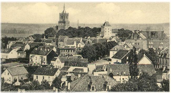 HISTORISCHE BLIK OP KLEEF MET DE SCHWANENBURG