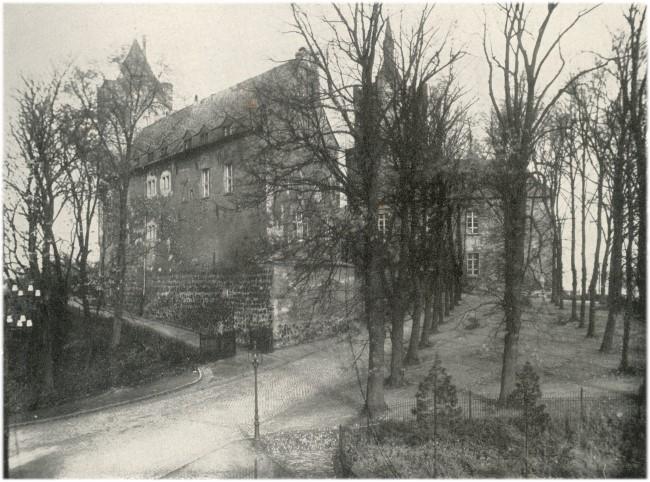 Südseite der alten Schwanenburg Cleve
