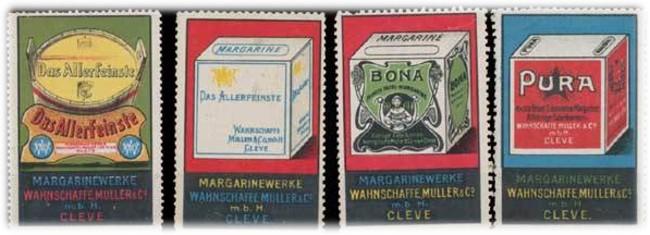 RAMA war nicht der erste Margarinewürfel aus Kleve