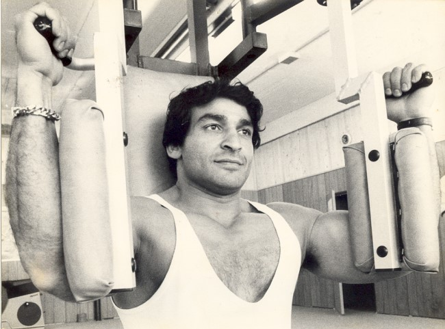 Training mit Mr. World Said Osman im Sport- und Freizeittreff Kleve