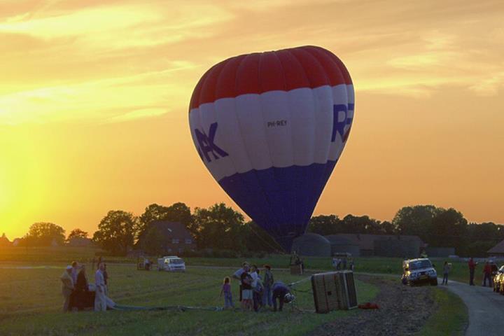 Ballonfahrt über das Kleverland
