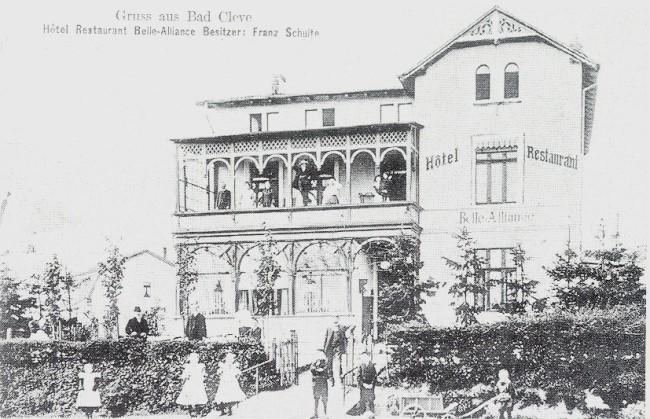 Hotel Belle Alliance oder Zum Goldenen Jan in Kleve
