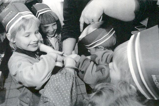 Kindergeburtstag bei McDonald's in Kleve