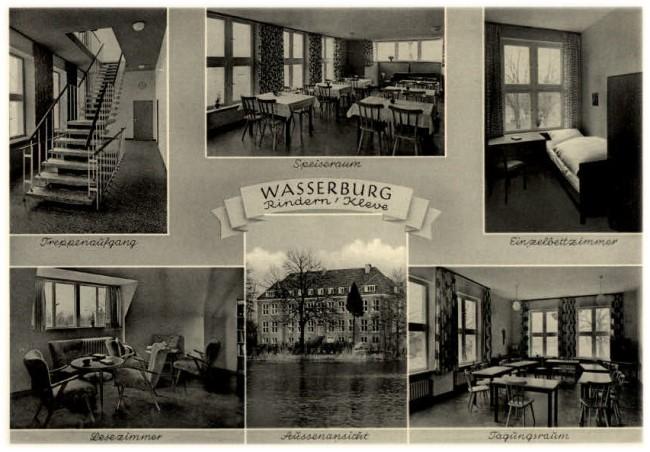 Ben je ooit in de Wasserburg in Rindern-Kleef geweest?