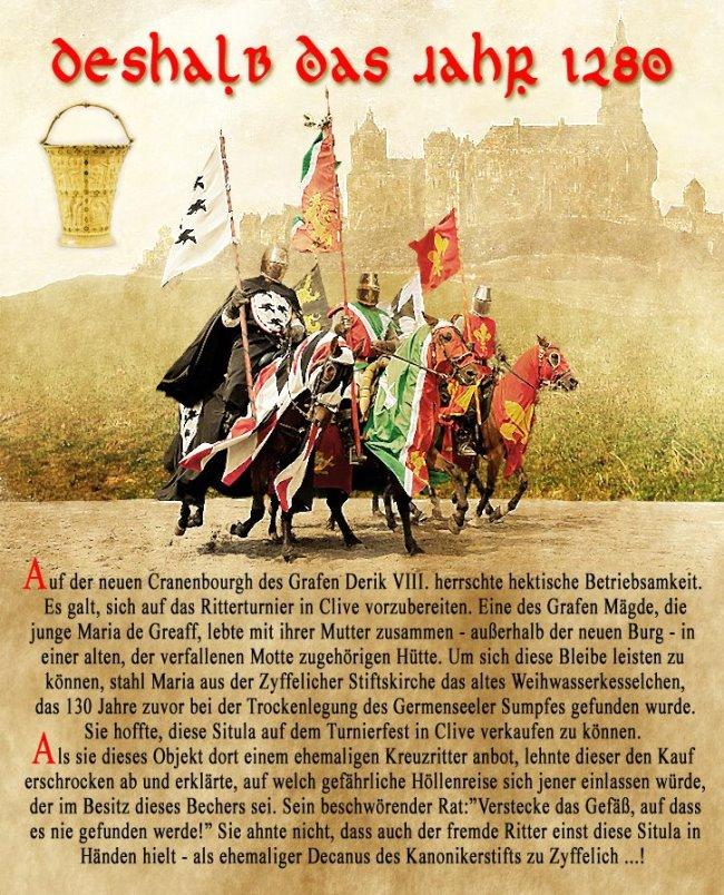 Ein Ritterturnier in Kleve