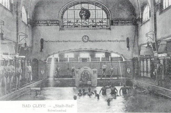Das legendäre Stadtbad von Kleve