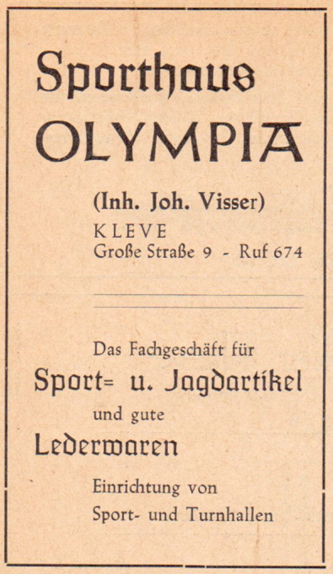 Olympia in Kleve