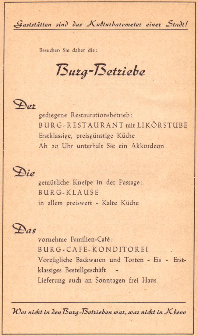 Kanntest Du noch ie Burg-Betriebe im Burgtheater?