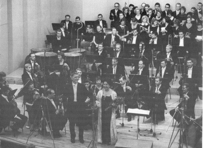 Erstes Konzert in der Klever Stadthalle
