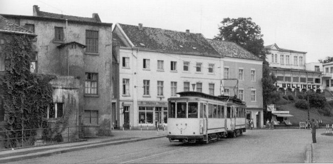 Niet meer te herkennen: Koekkoksplatz in 1957