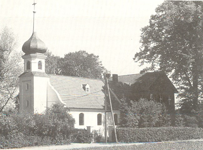 evang. kirche + pastorat
