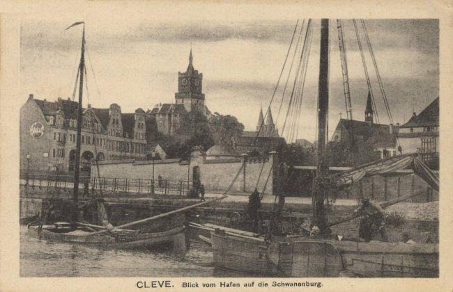 Der Hafen von Cleve