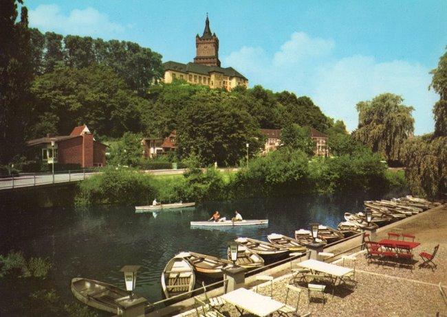 Was u aan het roeien op de Kermisdahl in Kleef?