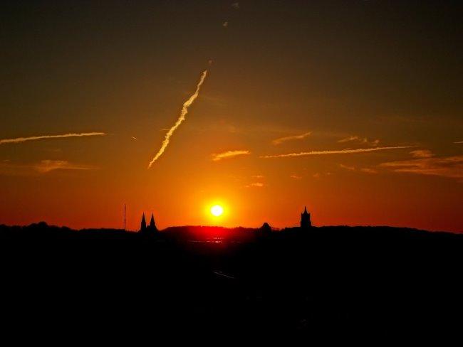 De zon van Kleef