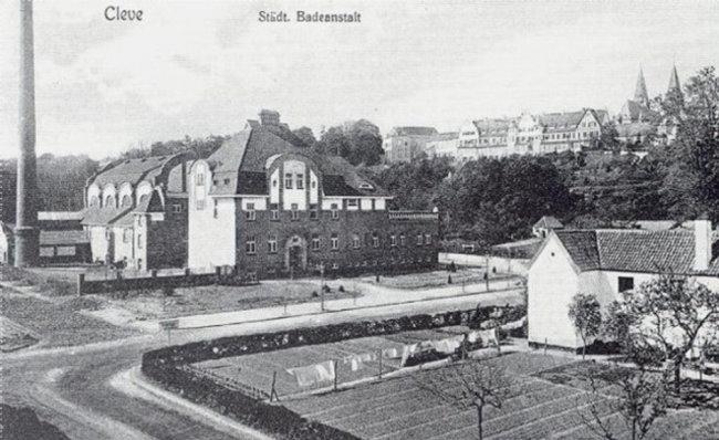 Het gemeentelijk badhuis van Kleve