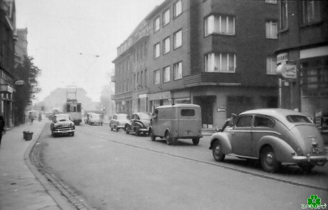 Die Herzogstraße der Fünfziger