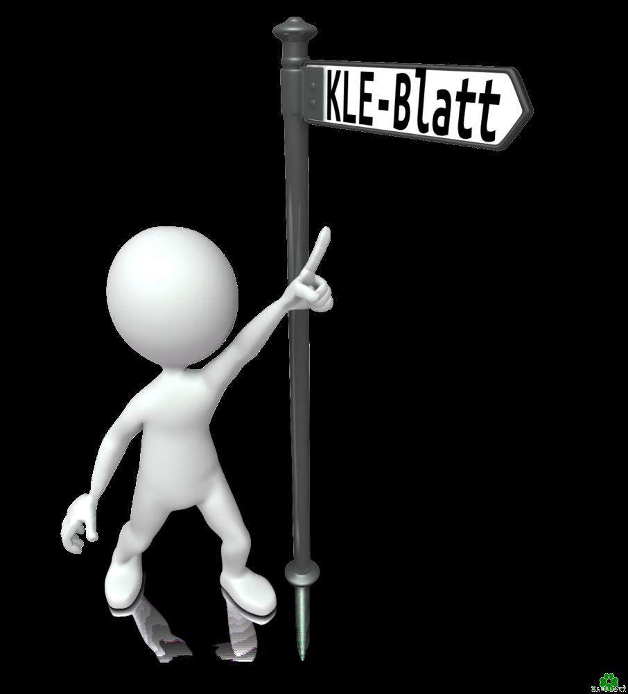 Voor KLE-Blatt heeft u geen navigatiesysteem nodig