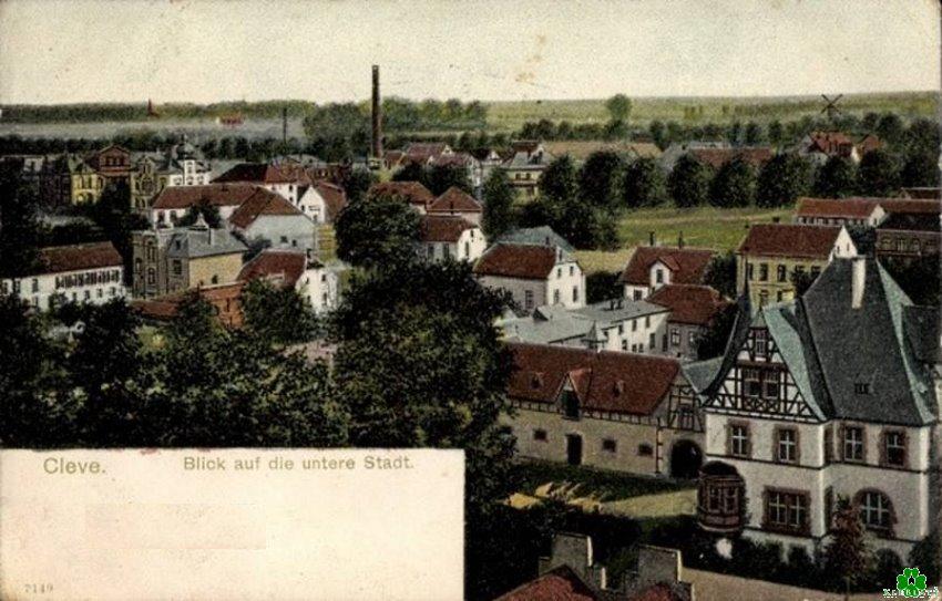 Die frühere Klever Unterstadt