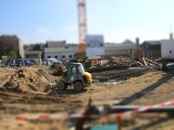 Baustelle Ärztehaus am Opschlag