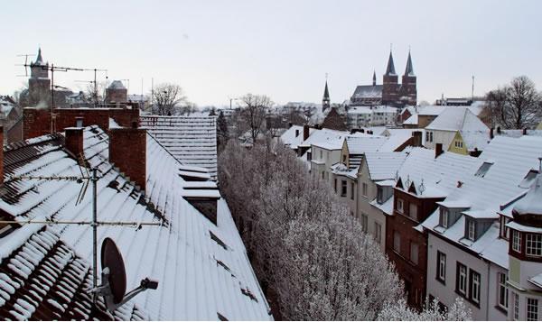 Schwanenburg und Stiftskirche in Kleve