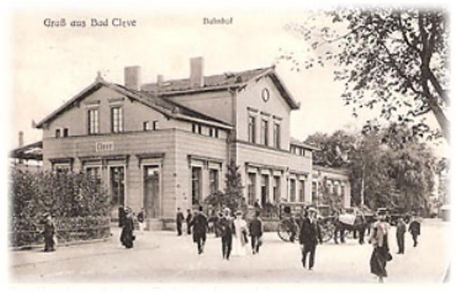 bahnhof bad cleve