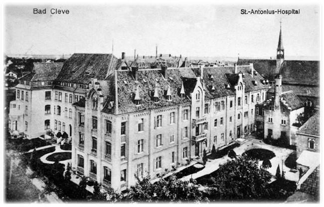 Als das Rathaus von Kleve noch Hospital war