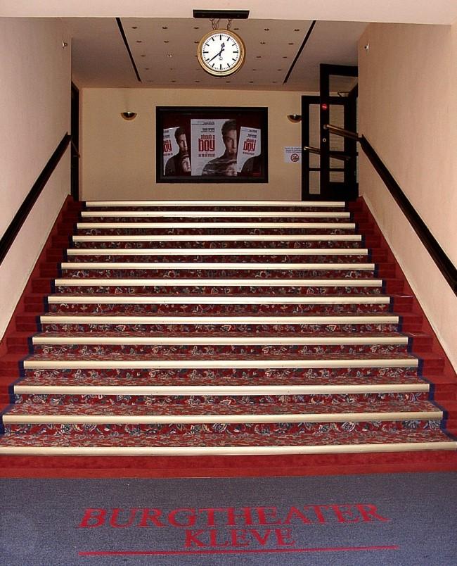 Weißt Du noch? Das Burgtheater Kleve – Die Treppe