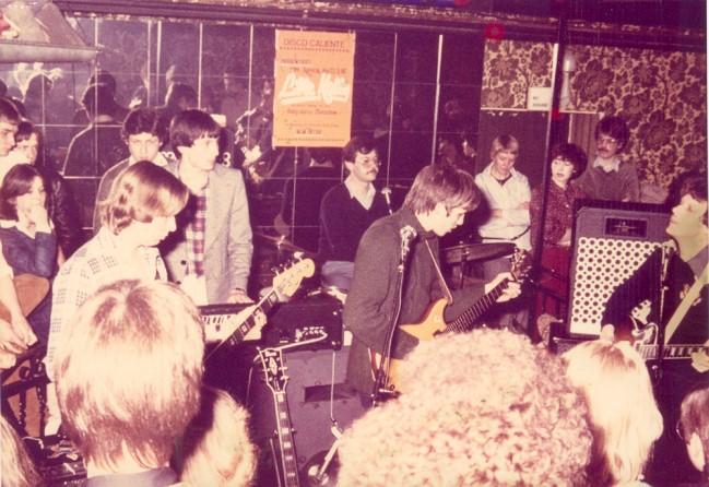 Ben je daar geweest? Klever cultband Wette Pööt in disco Caliente