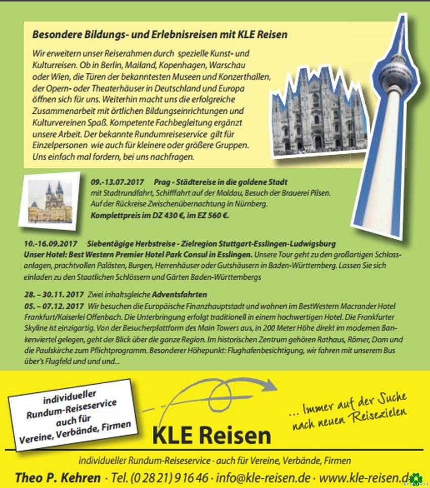 KLE-Reisen - Individueller Rundum-Reiseservice Kleve