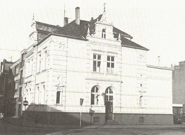 Haus auf der Bahnhofstraße 28 – Gestern + Heute