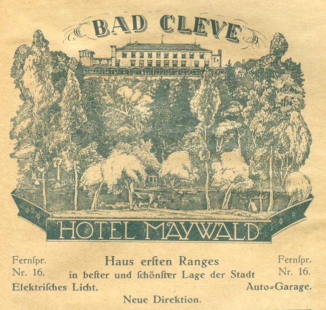 HOTEL MAYWALD BAD CLEVE - EEN HUIS VAN DE EERSTE RANG
