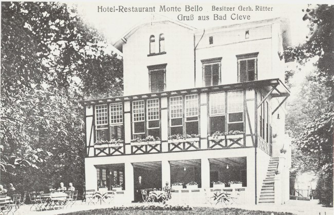 Hotel Restaurant Monte Bello in Bad Cleve