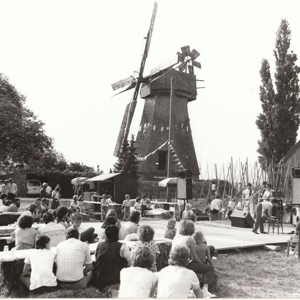 Mühlenfest Donsbrüggen 1983 mit den