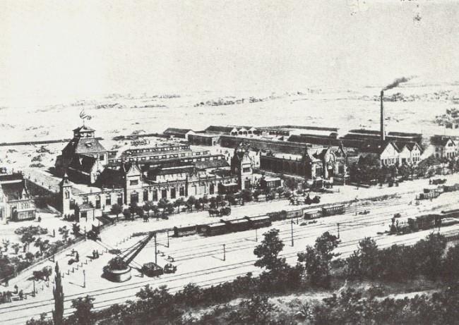 Margarinewerke van den Bergh in Kleve 1898