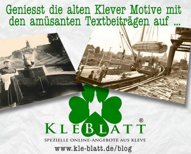 Wie van Kleve houdt, houdt van KLE-Blatt
