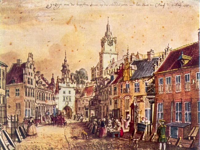 Kleve im Jahre 1750 - 17