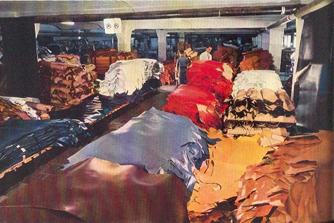 Das Oberlederlager der Schuhfabrik Gustav Hoffmann in Kleve