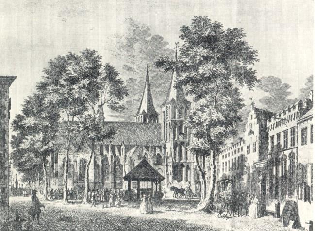 Kleve im Jahre 1750