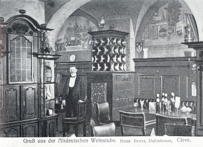 Die außergewöhnliche Altdeutsche Weinstube in Kleve