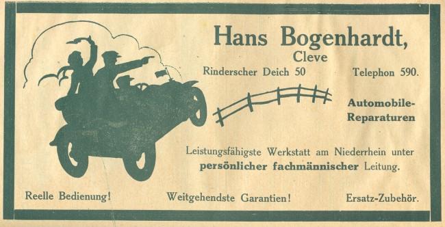 Interessante Auto-Reparaturwerkstatt in Kleve
