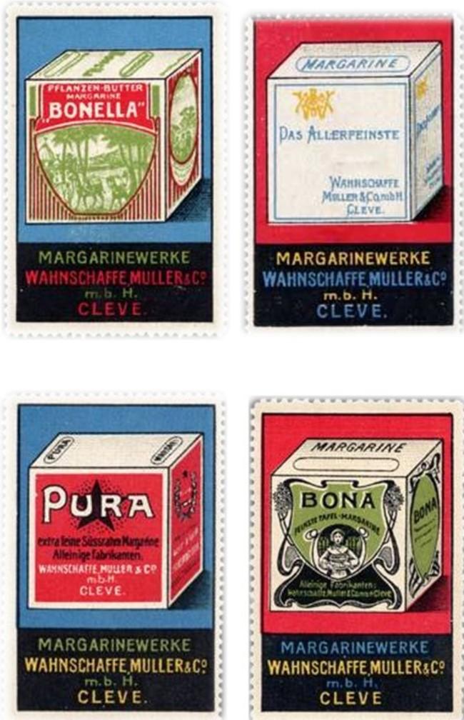 RAMA und SANELLA waren nicht die einzigen Margarinewürfel aus Kleve