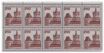2,10 DM für die Schwanenburg von Kleve