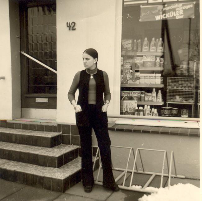 Der Tante Emma Laden auf der Kreuzhofstraße in Kellen