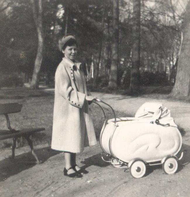 Bezocht op dat moment? De bostuin in Kleve 1953
