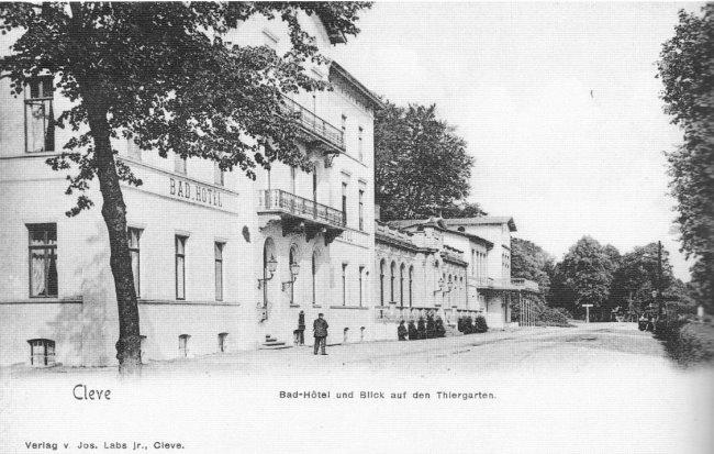 Das Bad-Hotel in Kleve