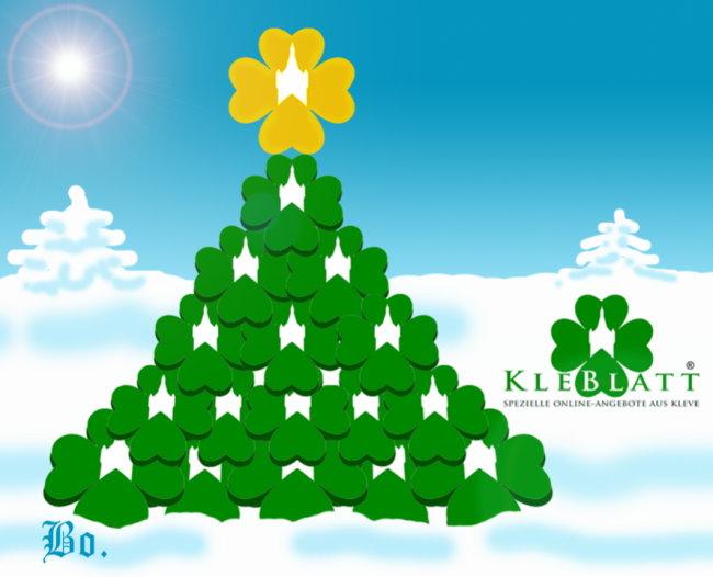 Frohe Weihnachten allen Klever Bürgerinnen und Bürgern