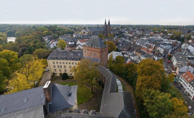 Blick vonne Schwanenburg