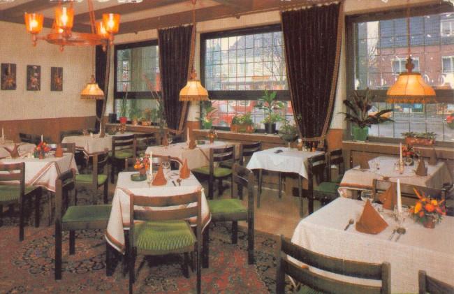 Heeft u ook gegeten in het oude restaurant Schweizerhaus?