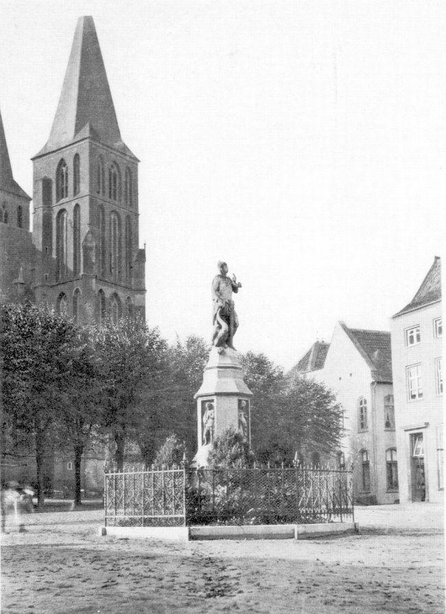 Das großartige Lohengrin-Denkmal zu Kleve